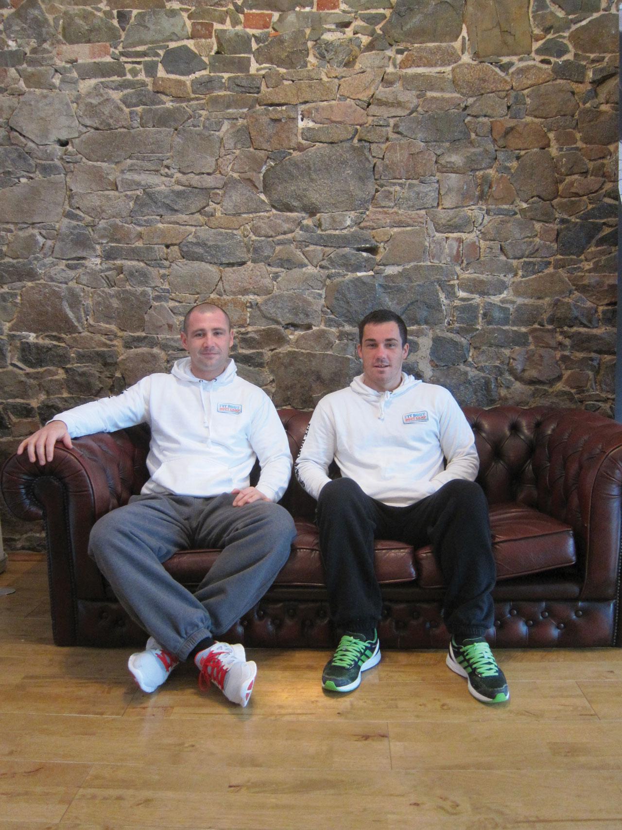 On the Sofa: Craig Culkin & Ryan Hodson – Fit Body Bootcamp Training